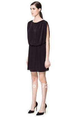 Aliexpress.com   Buy 2013 Spring and Summer Belt Zipper Women s One piece  Dress Cool Black Sleeveless Vest Short Skirt Shipping Free  017 from  Reliable ... 58beff4097c3