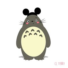 Totoro gifs CL TERRY