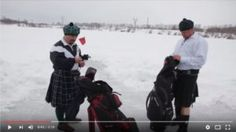 Golf, Video, Snow, Eyes, Wave, Polo Neck, Let It Snow
