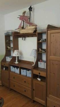 Kinderzimmermöbel 6 teilig Leksvik in Frankfurt (Main)