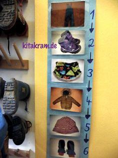 Tipp für die Kindergarderobe | kitakram.de