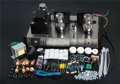 Vintage Amplifiers & Tube Amps for sale Headphone Amp, Hifi Stereo, Vacuum Tube, Guitar Amp, Diy Kits, Full Set, Circuits, Watch, Music