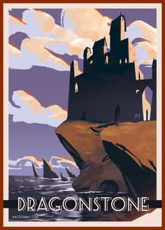 """Winter is Coming""... to the French Alps in the 1930s. Great poster design inspired by #GOT"