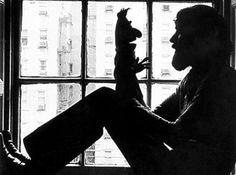 Jim Henson and Bert.