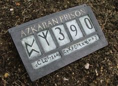 Sirius Black Azkaban Prison sign inspired by Standingstonestudios, £45.00