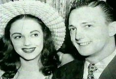 Actress Evelyn Ward and actor Jack Cassidy,  parents of actor singer David Cassidy