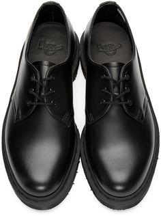 Dr. Martens - Black 1461 Mono Derbys