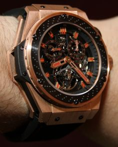 Hublot King Power F1 Tourbillon Hands-On