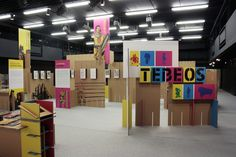 Exposición temporal Tebeos   Intervento. Museografía e Iluminación