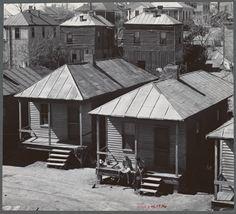 View in Negro quarter. Vicksburg, Mississippi, 1936 Walker Evans - New York Library Digital Collection