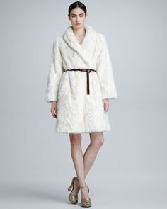 Mink+Fur+Herringbone+Coat,+Ivory+by+Marc+Jacobs+at+Neiman+Marcus.  Now let me go pick my money tree! :)