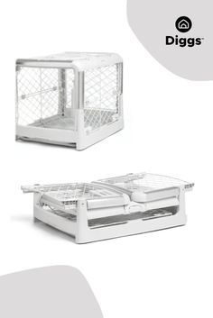 You'll never look at a dog crate the same way again! Revol is an attractive, collapsible dog crate that is easy to set up, transport, and store. Revol's design, inspired by baby industry quality standards, incorporates premium materials and ergonomic, easy-to-use doors. Puppy divider included.