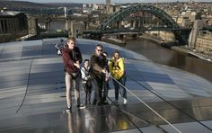 Roof Walk Experience at Sage Gateshead