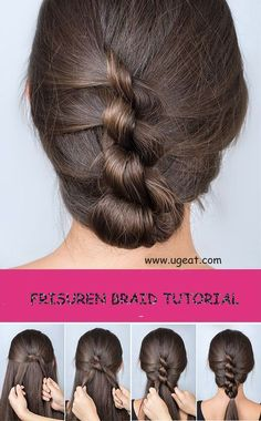 Hairstyles Tutorial: Multiple Knotted Banana Frisuren Tutorial: Mehrfach geknotete Banane Multiple knotted banana, which is not one . The multi-knotted banana disguises itself as a classic updo, but is styled differently. Our styling guide mak Unique Hairstyles, Pretty Hairstyles, Braided Hairstyles, Formal Hairstyles, Hairstyle Braid, Braid Hair, Hairstyles Haircuts, Classic Updo, Hair Pictures