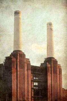 Battersea power 2 - Giclee print Color photograph Nadia Attura