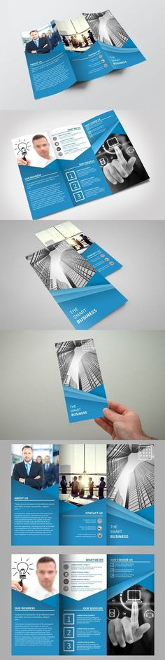 Trifold Corporate. Business Infographic. $6.00