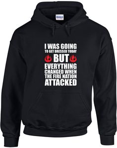Fire Nation Attacked - Avatar the Last Airbender Hoodie