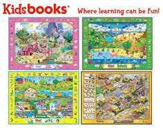 Life is a Sandcastle: Sweepstakes Kidsbooks Giant Search & Find Floor Mats