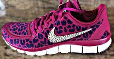 Women's Nike Free 5.0 v4 with Swarovski by HarrietHazelDesigns