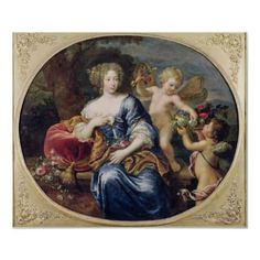 Madame de Montespan, Mistress to Louis XIV Louis Xiv, Rembrandt, Ludwig Xiv, Oil On Canvas, Canvas Prints, French Royalty, Courtier, 17th Century Fashion, French History