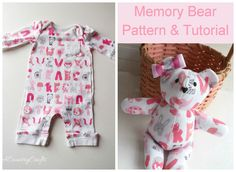 Memory Bear Pattern and Tutorial