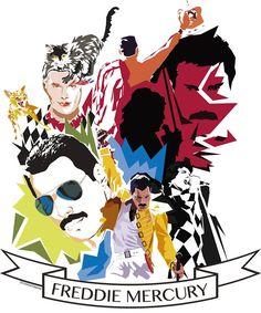Happy Birthday Freddie! by DrawnByYou.deviantart.com on @deviantART