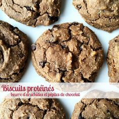 Biscuits protéinésbeurre d'arachides et pépites de chocolatMouhahaha ! Je me sens tellement diabolique quand je réussis à incorporer un ingrédient secret