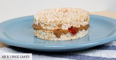 Pre- and Post-Workout Snacks: AB & J Rice Cakes