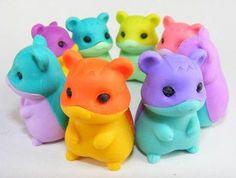 8pcs-Japanese-Iwako-Erasers-Hamster-Vol-4