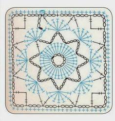 almofadas square em croche com receita