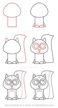 Drawing Doodle Easy Can you smell it? This how to draw a skunk tutorial is hot and easy to duplicate! - Can you smell it? This how to draw a skunk tutorial is hot and easy to duplicate! Doodle Drawings, Cartoon Drawings, Animal Drawings, Animal Sketches, Easy Dragon Drawings, Easy Drawings, Drawing Lessons For Kids, Art Lessons, Skunk Drawing