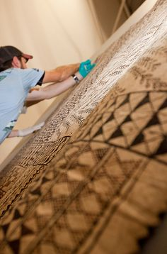 Installation | 'Paperskin: the art of tapa cloth'