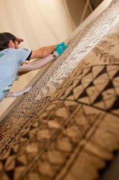 Samoans were printmakers.