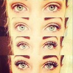 With just ONE coat of 3D Fiber Lash Mascara, your lashes can look like this!!!