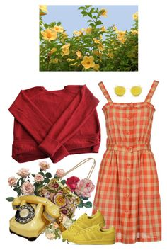 """""""flora"""" by paper-freckles ❤ liked on Polyvore featuring Eres, Sessùn, Valentino, adidas and Ray-Ban"""