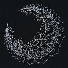 Mendhika Moon design (UT7901) from UrbanThreads.com