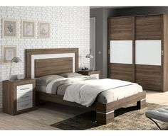 Dormitorio Moderno 10 Bedroom False Ceiling Design, Bedroom Closet Design, Bedroom Furniture Design, Modern Bedroom Design, Home Room Design, Bed Furniture, Simple Bed Designs, Bed Back Design, Bed Headboard Design