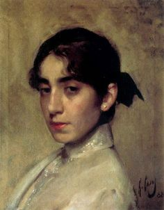 Portrait of Eliza Casas is one of artworks by Ramon Casas i Carbó. Artwork analysis, large resolution images, user comments, interesting facts and much more. Painting People, Figure Painting, Painting & Drawing, Portrait Art, Portraits, Ramones, Academic Art, Classic Paintings, Spanish Artists