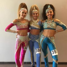 3 beautiful #missvictorii girls 💖#idodisco #discocostume #discodance Disco Costume, Pageant Wear, Little Girl Models, Dance Poses, Figure Skating Dresses, Girls In Leggings, Dance Pictures, Dance Outfits, Dance Costumes
