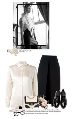 """""""White nights"""" by nicolesynth ❤ liked on Polyvore featuring McQ by Alexander McQueen, Burberry, Anne Klein, Bouchra Jarrar, Byredo, Sebastian Professional, Tom Ford and Chanel"""