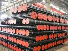 We supply carbon steel pipes in different grades & sizes.