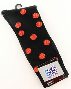 Basketball Mens Womens Novelty Sports Sock Casual Fashion Cotton Blend Black New #MB55byExcell #Novelty