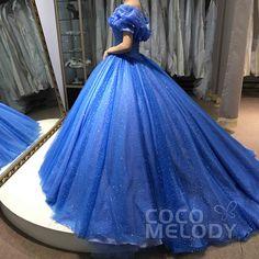 Cinderella Dream Comes True! #weddingdresses #customdresses #Cinderelladresses #cocomelody