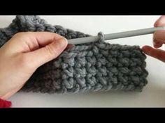 Mango Tree Crafts: Bulky Cross Stitch Cowl Free Crochet Pattern