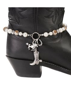 Horse & Boot Charms Boot Bracelet
