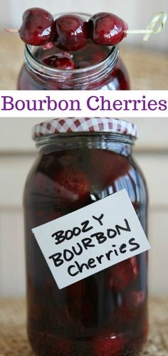 """Boozy Bourbon Cherries These Bourbon Cherries are perfect for gifting or adding to cocktails."""", """"pinner"""": {""""username"""": """"first_name"""": """"Mandi"""", """"domain_url"""": null, """"is_default_image"""": false, """"image_medium_url"""":. Mixed Drinks, Fun Drinks, Yummy Drinks, Healthy Drinks, Alcoholic Drinks, Beverages, Healthy Food, Refreshing Drinks, Nutrition Drinks"""