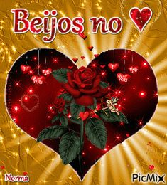 ♥♥Beijos no coração♥♥