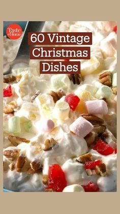 Christmas Dishes, Christmas Snacks, Christmas Cooking, Christmas Candy, Holiday Treats, Vintage Christmas, Holiday Baking, Christmas Desserts, Christmas Recipes