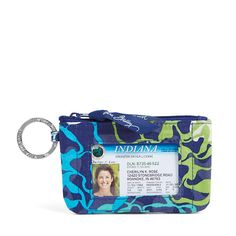 Vera Bradley Zip ID Case in Katalina Blues at The Paper Store Paper Store,  Vera ee67e6c063