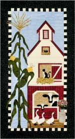 Barnyard Ladies Fusible Applique Wall Quilt Pattern by Sue Pritt